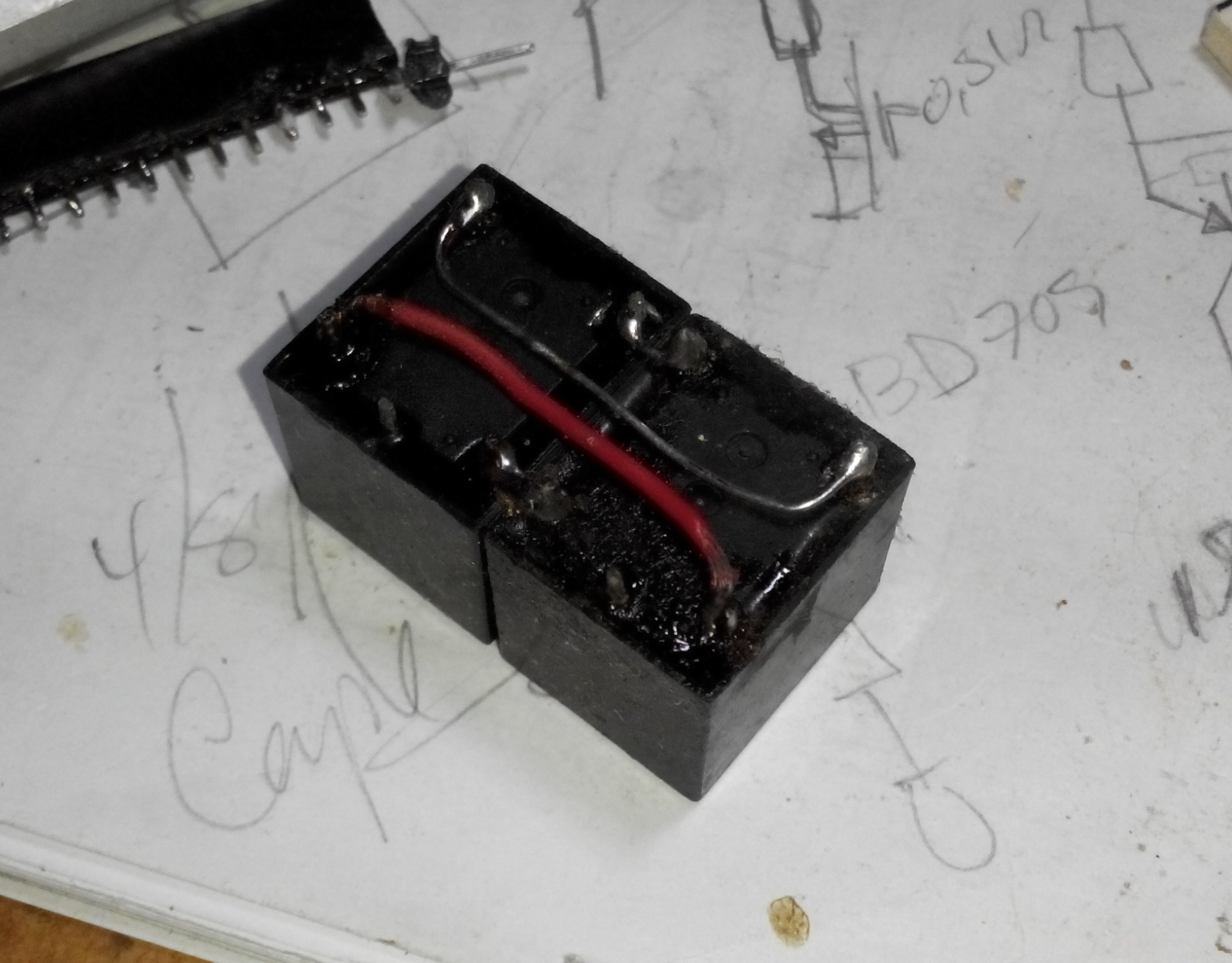 Enough Power To Drive A Large Motor So The Total Control Circuit