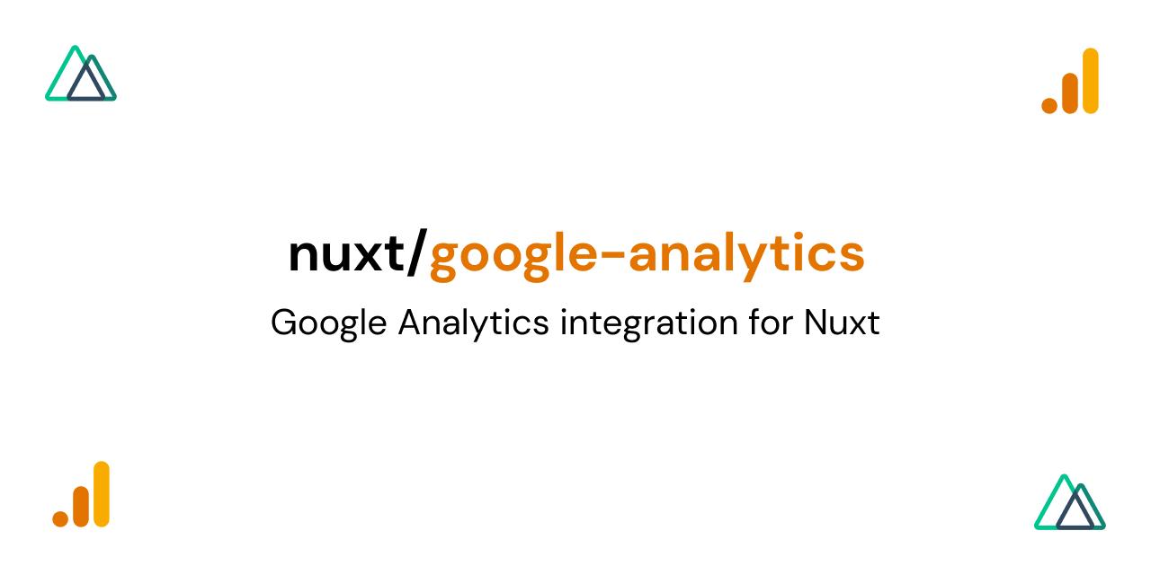 @nuxtjs/google-analytics