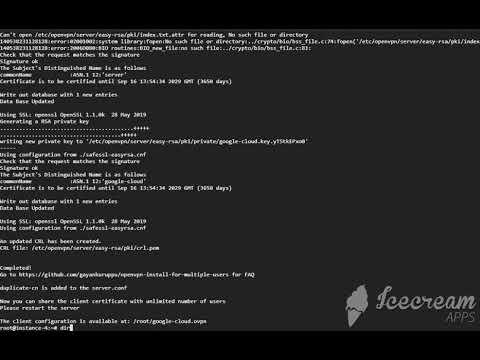 Install OpenVPN for multiple users on Ubuntu