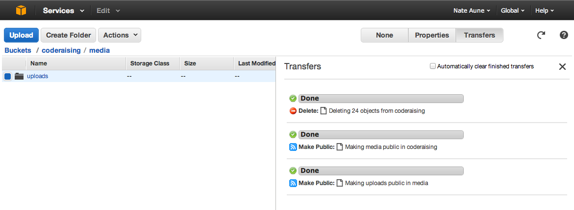 filebrowser_safe does not work with Amazon S3 (and