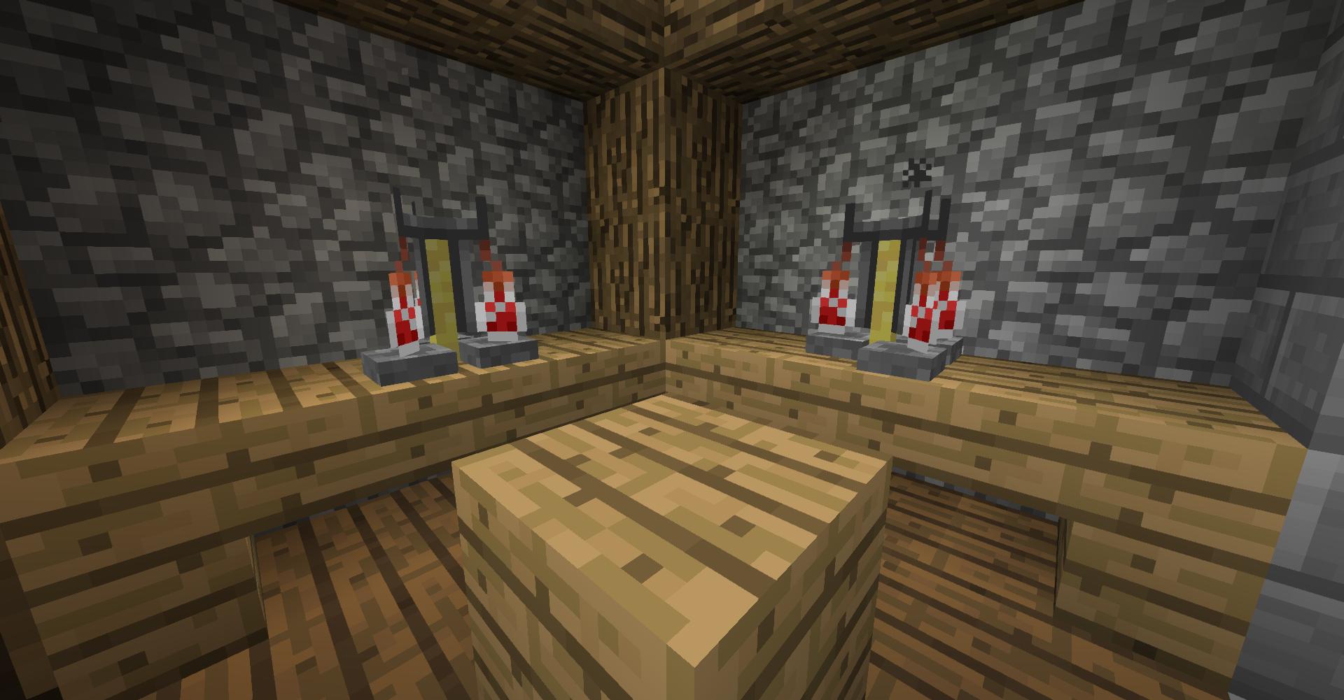 In Minecraft brauen