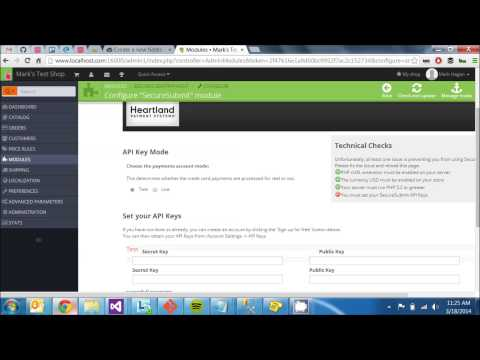SecureSubmit PrestaShop Install and Configuration Guide