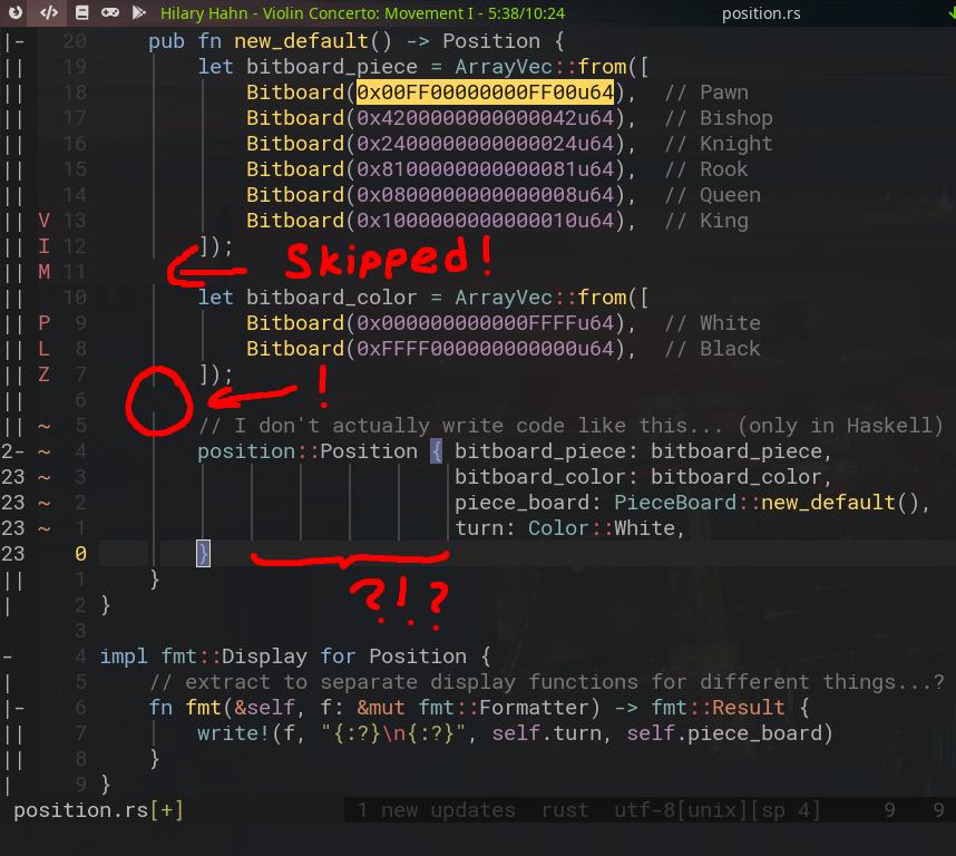 api expose fold info ui display virtual chars beyond eol issue