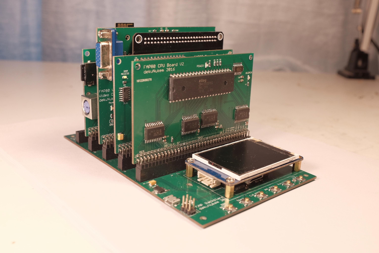 GitHub - dekuNukem/FAP80: A Z80 retro computer without the retro baggage