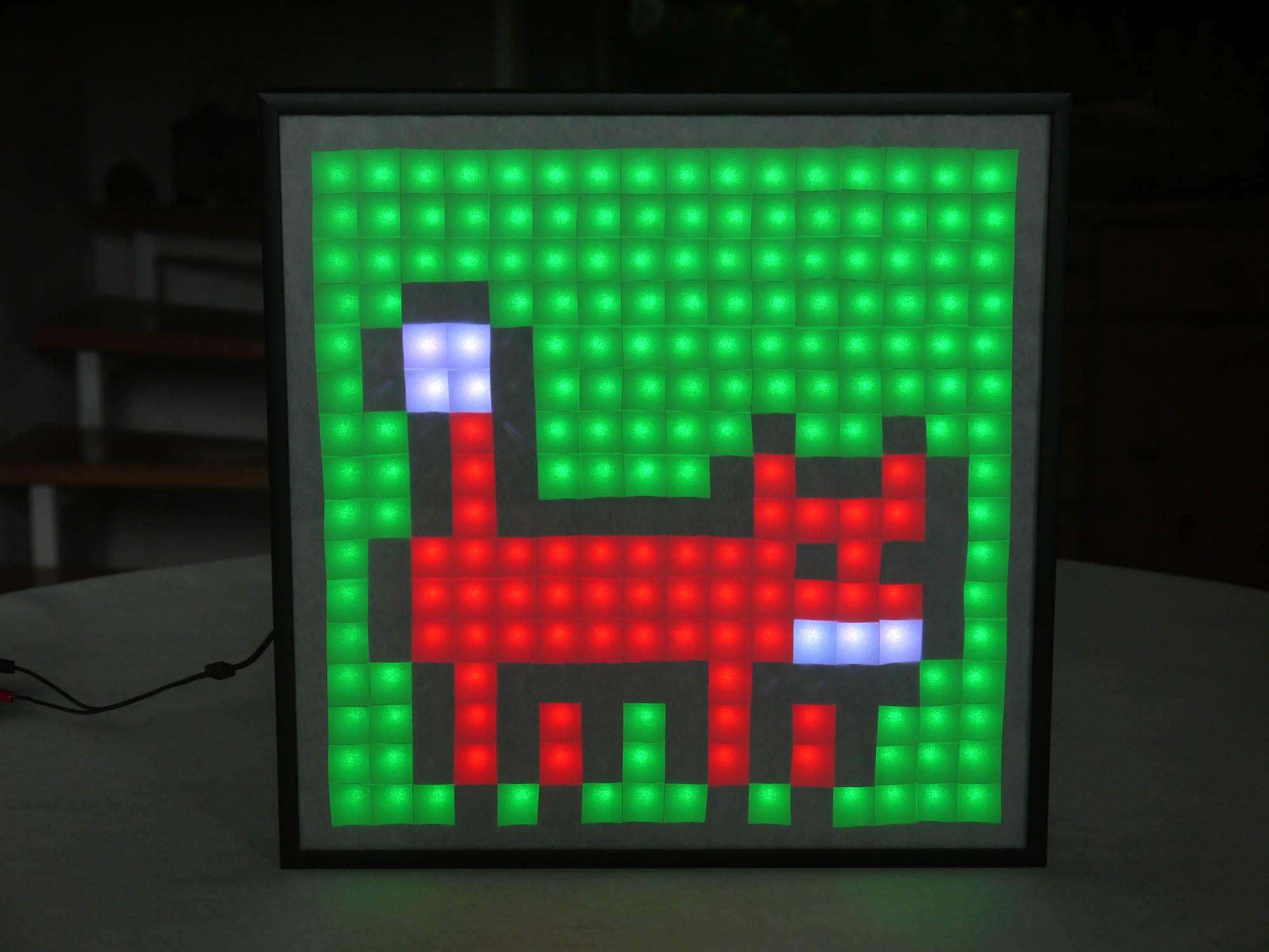 GitHub - marian42/pixelpi: Games and Animations on 16x16 LEDs