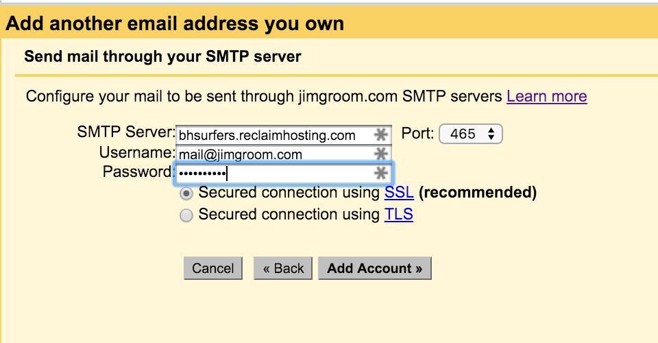 Password ETC