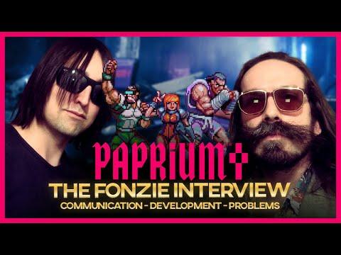 PAPRIUM - THE FONZIE INTERVIEW (English Subtitles)
