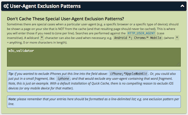 user-agent-exclusion-patterns