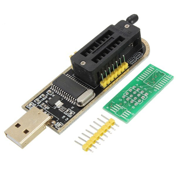 Typical CH341 based programmer