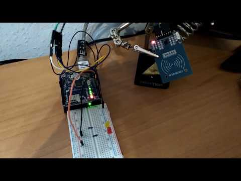 Validate NFC tags against node TCP server with arduino