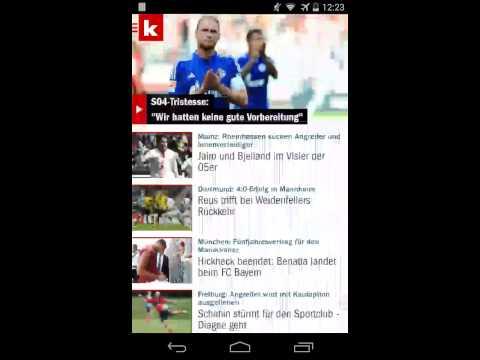 Kicker app