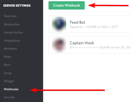 Feeds to Discord Tutorial (via Webhooks and IFTTT · GitHub