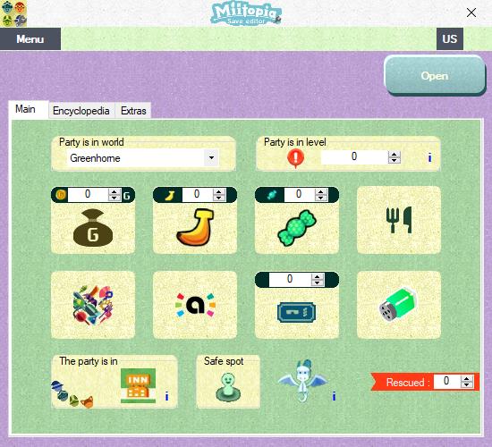 GitHub - Brionjv/Miitopia-Save-Editor: Edit your Miitopia save file