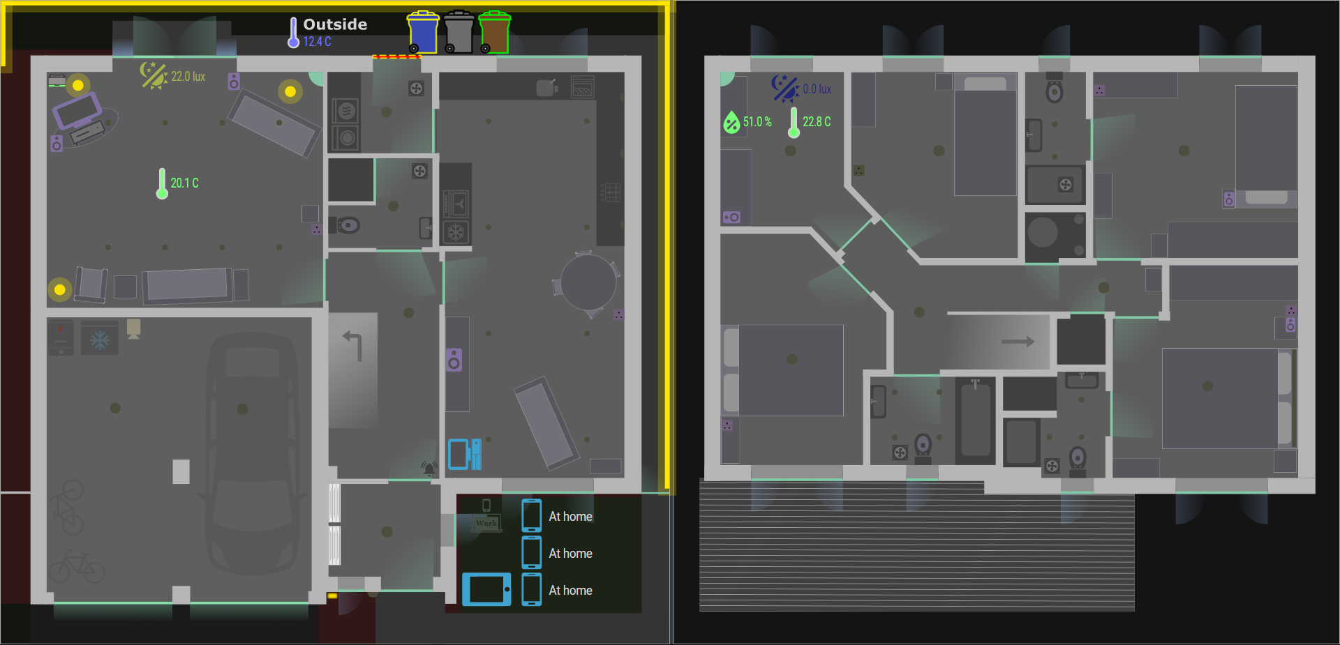 Screenshot of floorplan