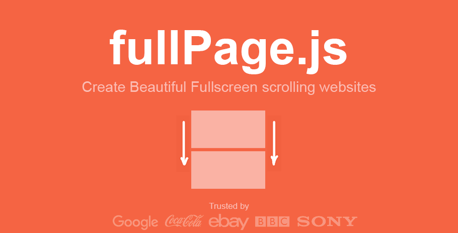 fullPage js/README md at master · alvarotrigo/fullPage js · GitHub