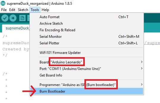 image-burn-bootloader
