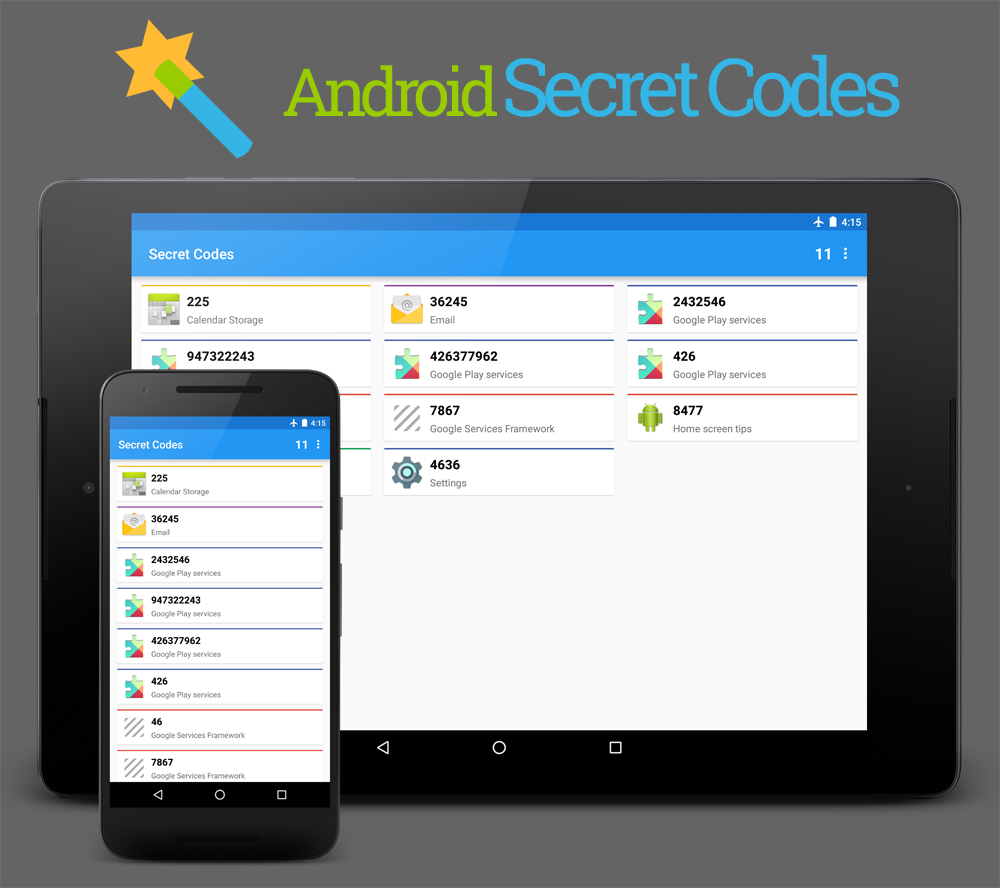 Android-SecretCodes