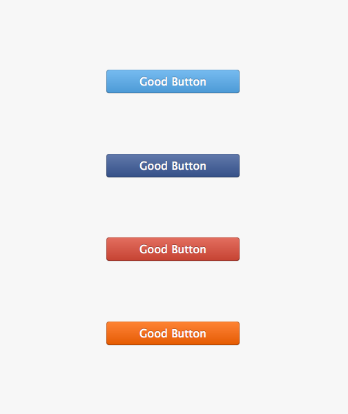 a few different good button styles