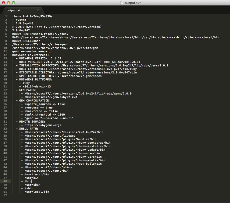 rbenv: rails: command not found · Issue #73 · rbenv/rbenv
