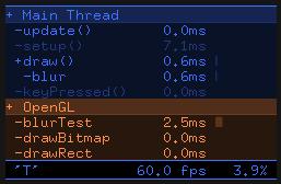 OpenGL Timings