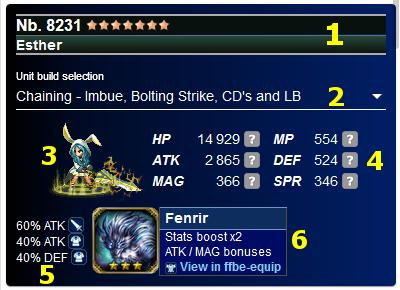 Github Wisdomb33r Ffbe Calculator Final Fantasy Brave Exvius Unit Builder And Damage Calculator