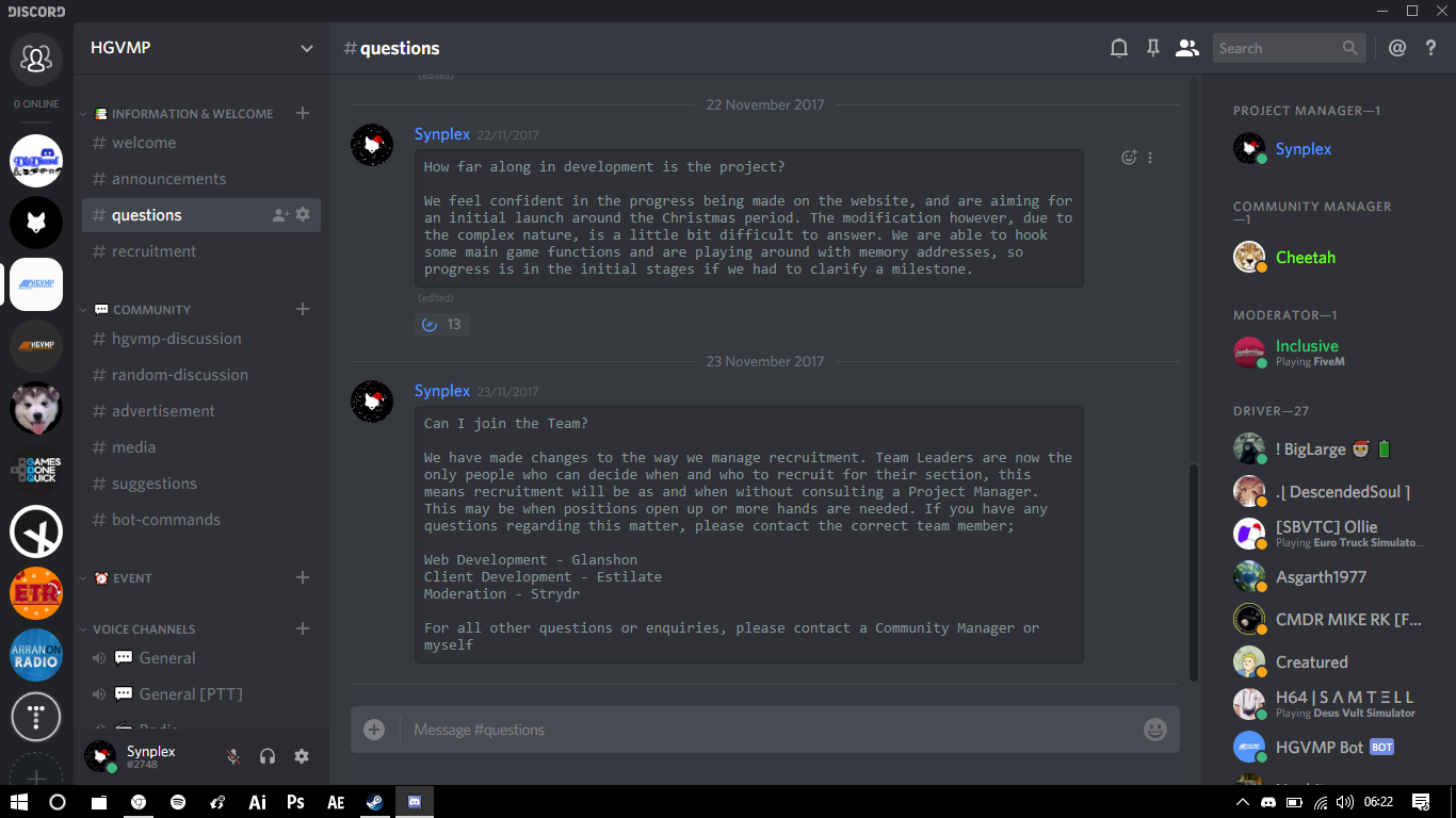 Open Source Discord Bot