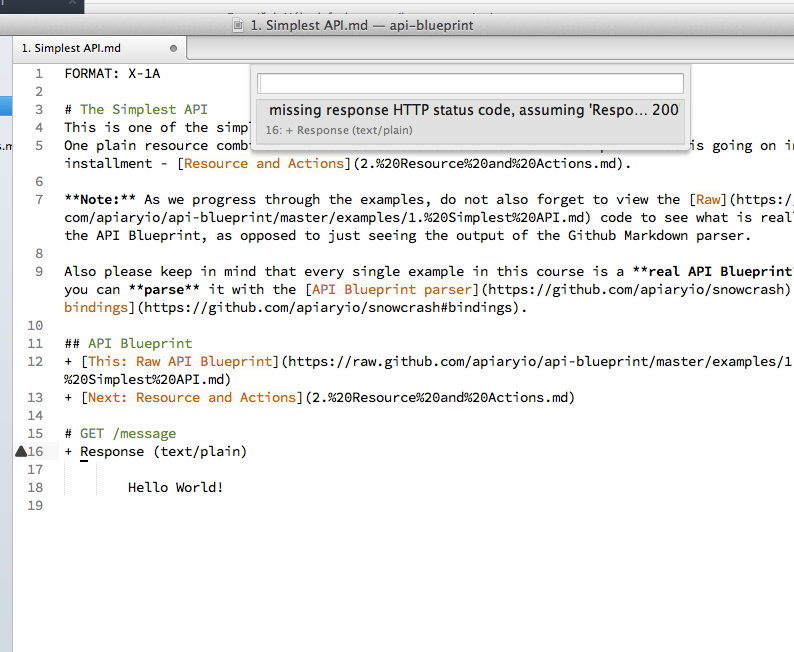 Better sublimetext linting issue 46 apiaryioapi blueprint github screen shot 2013 12 17 at 7 39 17 pm malvernweather