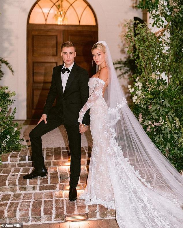 Risultati immagini per bieber hailey welcome party wedding