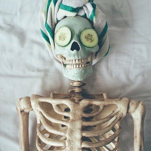 Spooky SPA skeleton
