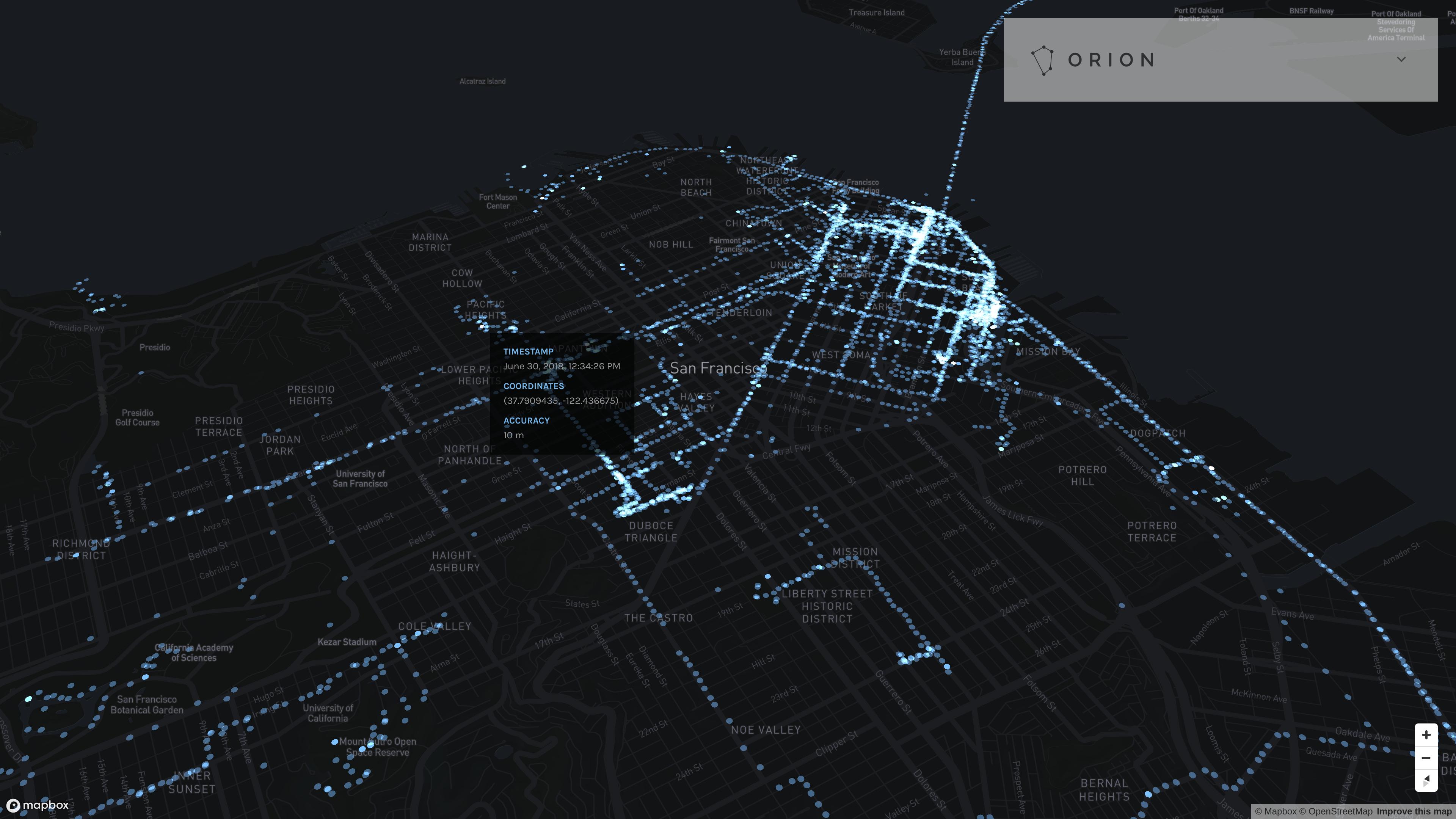 GitHub - LINKIWI/orion-web: Robust web visualization tool