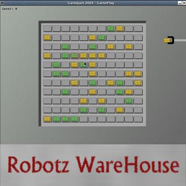 Robotz Warehouse game for Itau Gamejam 2009