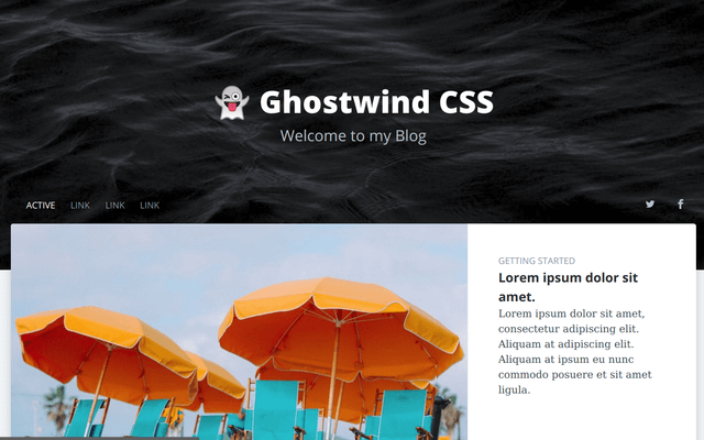 Ghostwind Home Page