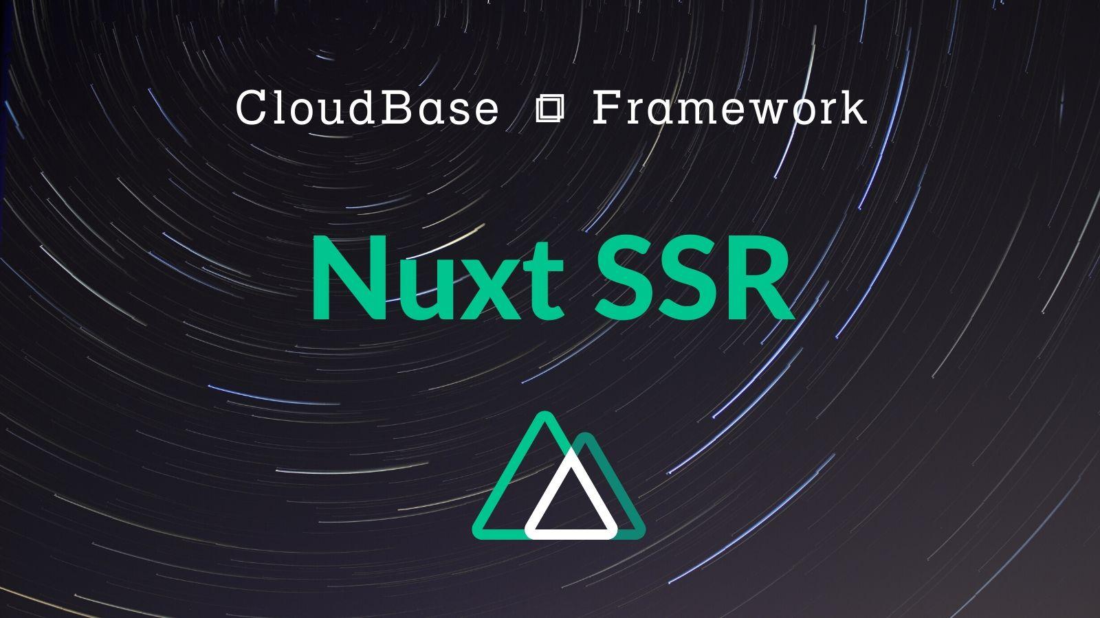 Tencent CloudBase Framework Nuxt SSR Plugin