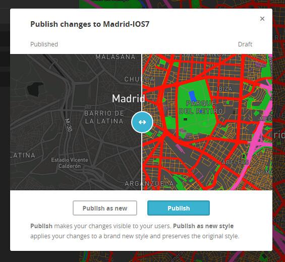Publicando en Mapbox