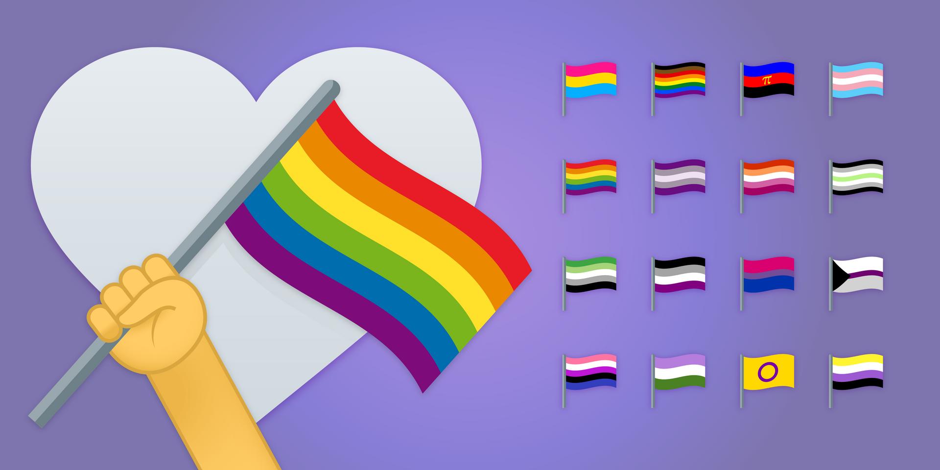 Pride Emoji Flags