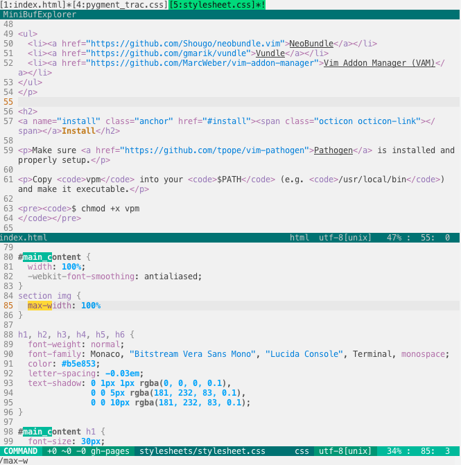 FlatUI with HTML + CSS