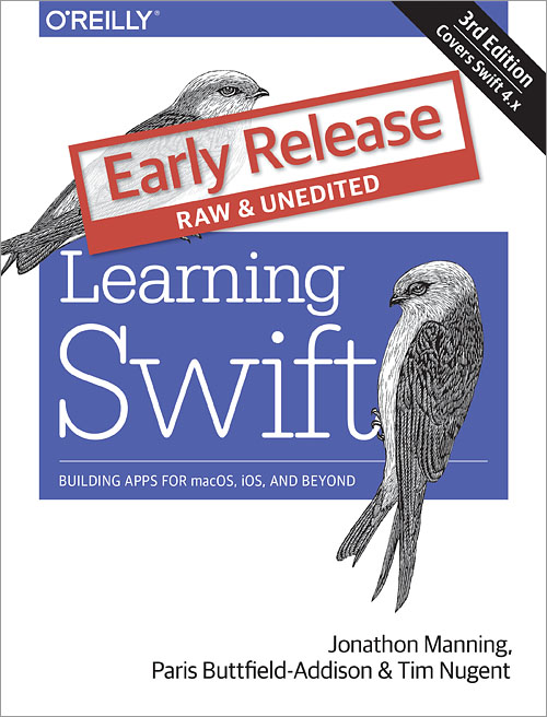 Learning Swift cover