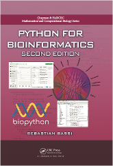 Cover of Python for Bioinformatics