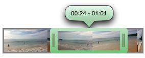 SAVideoRangeSlider screen