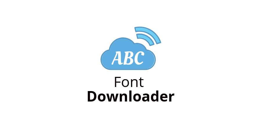 google-font-downloader