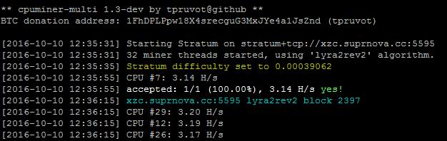Linux mining