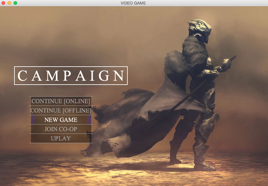 GitHub Siderimvideogamemenu General Video Game Menu Design - Game menu design