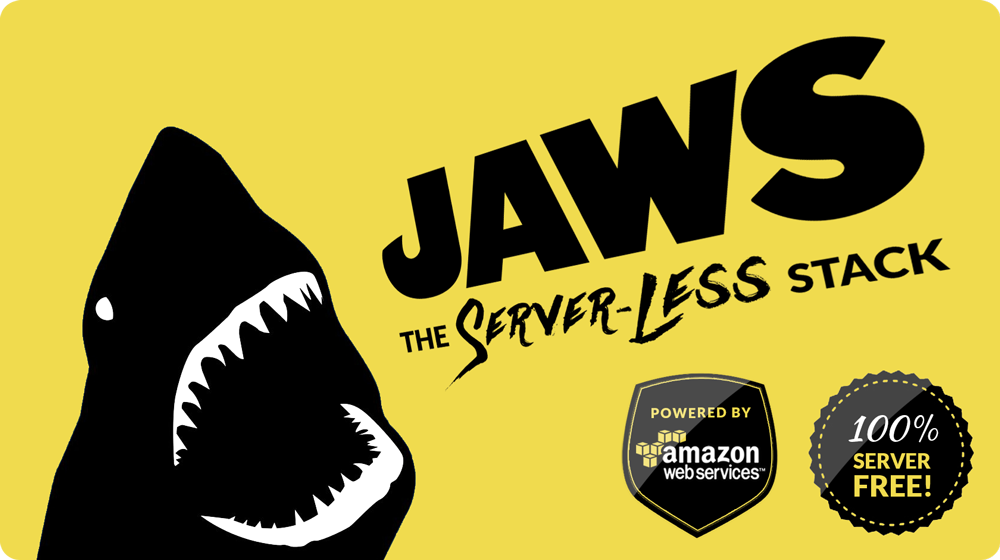 JAWS stack server-less serverless aws nodejs express dynamodb lambda