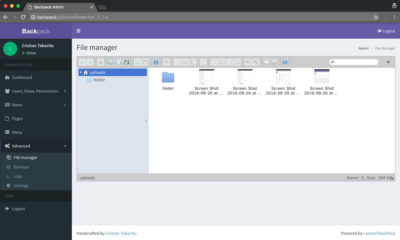 GitHub - Laravel-Backpack/CRUD: Build a custom admin