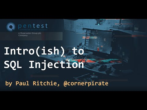 Intro(ish) to SQL Injection