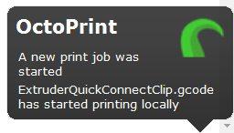 Growl plugin: Example notification
