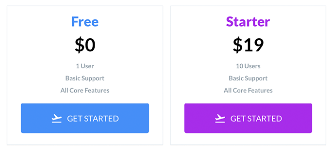 Pricing Component