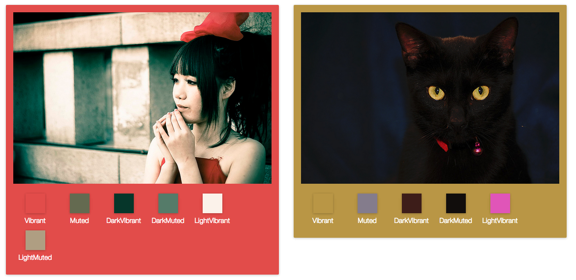 GitHub - jariz/vibrant js: Extract prominent colors from an image