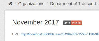Status badge